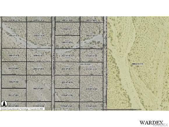 0000 Tombstone Trail, Golden Valley, AZ 86413 (MLS #793641) :: The Lander Team