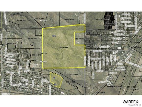 UNK Western Avenue, Kingman, AZ 86401 (MLS #852166) :: The Lander Team