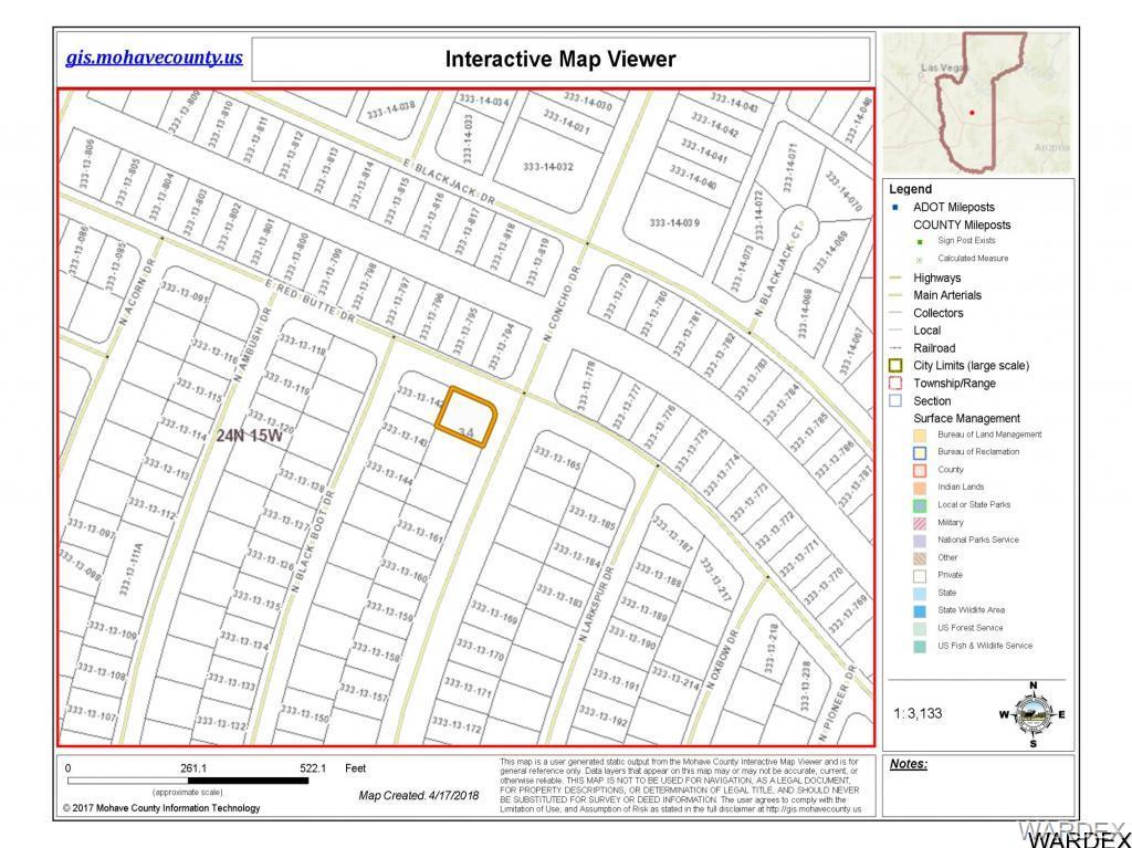 Concho Arizona Map.0000 N Concho Drive Kingman Az 86401 Mls 939542 The