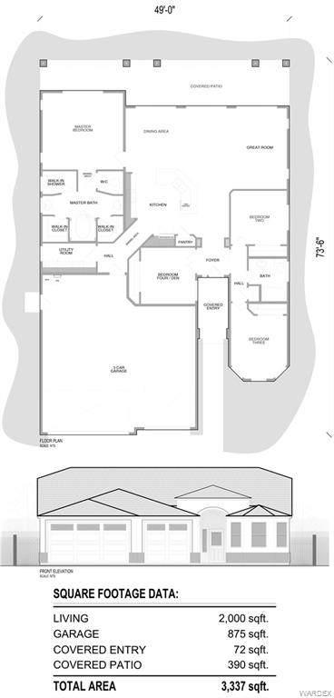 2027 E Lago Grande Court, Fort Mohave, AZ 86426 (MLS #977585) :: The Lander Team