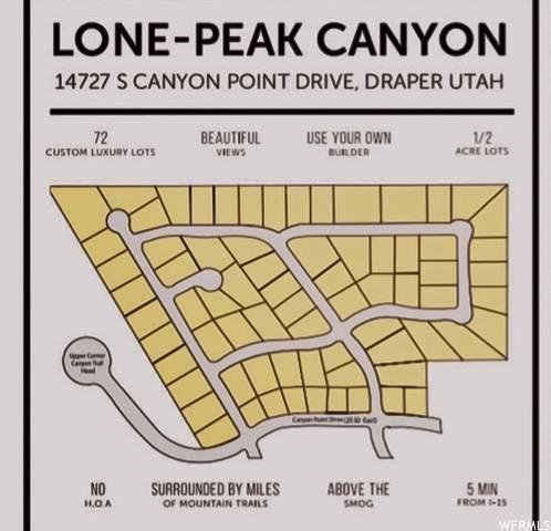 14651 S Canyon Peak Dr #42, Draper (Ut Cnty), UT 84020 (#1626391) :: Belknap Team