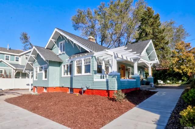1021 E 2700 S, Salt Lake City, UT 84106 (#1710331) :: Berkshire Hathaway HomeServices Elite Real Estate