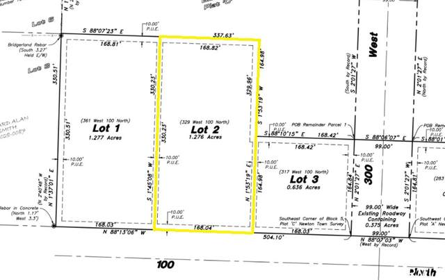 329 W 100 N #2, Newton, UT 84327 (MLS #1711186) :: Lawson Real Estate Team - Engel & Völkers