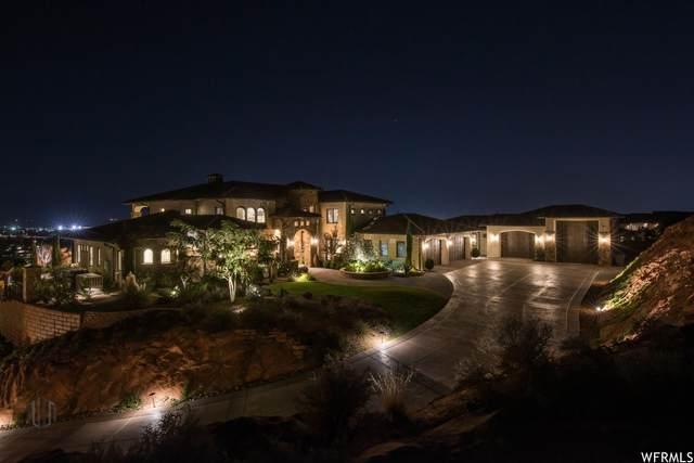1445 W Bluff Hill Dr N, Washington, UT 84780 (#1719194) :: Utah Best Real Estate Team | Century 21 Everest