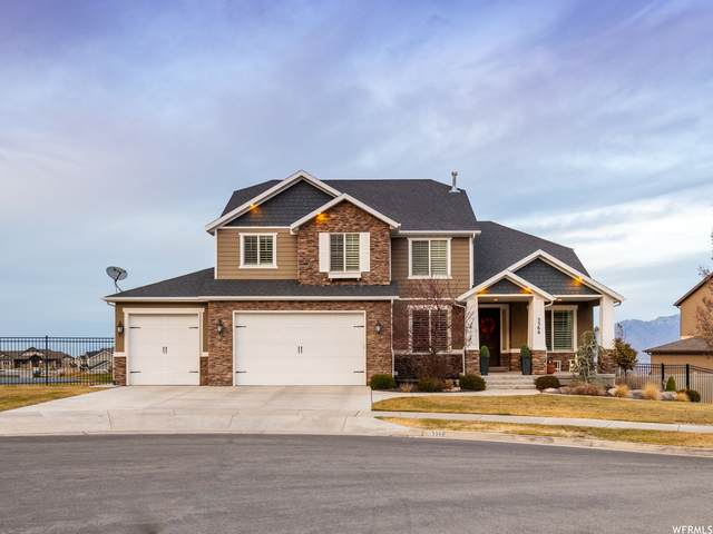 5566 W Bugle Ridge Ct, Herriman, UT 84096 (#1719913) :: EXIT Realty Plus