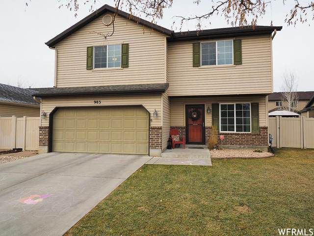 983 N Berkshire, North Salt Lake, UT 84054 (#1719931) :: Red Sign Team