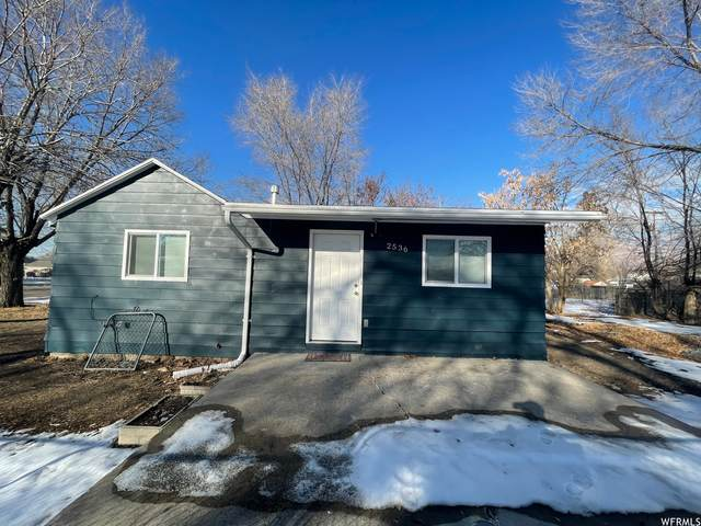 2536 S C Ave W, Ogden, UT 84401 (#1720028) :: Powder Mountain Realty