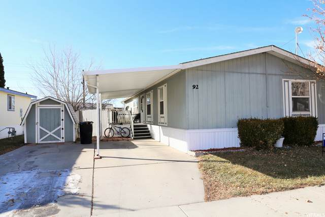 1025 N 300 W #92, Springville, UT 84663 (MLS #1720248) :: Lawson Real Estate Team - Engel & Völkers
