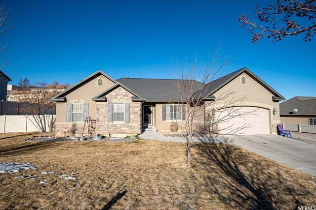 1236 E Hillshire Dr S, Santaquin, UT 84655 (#1720917) :: Red Sign Team