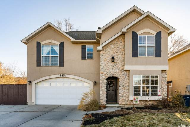 885 W Chartres Ave S, Sandy, UT 84070 (#1720963) :: Red Sign Team