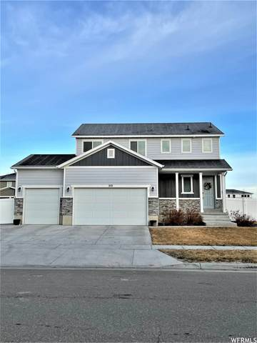 252 W Box Creek Dr N, Stansbury Park, UT 84074 (#1721565) :: Red Sign Team