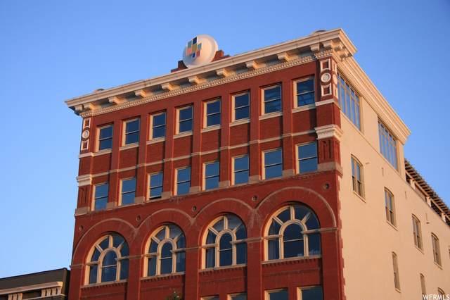 159 W Broadway #501, Salt Lake City, UT 84101 (#1721810) :: Utah Dream Properties