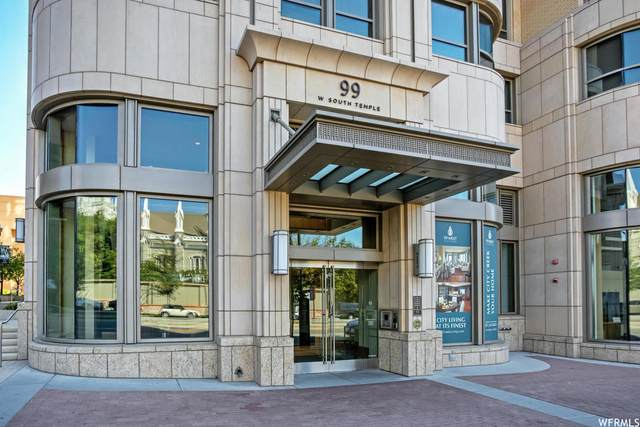 99 W South Temple #2306, Salt Lake City, UT 84101 (#1722240) :: goBE Realty