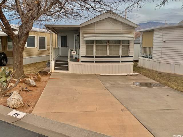 1160 E Telegraph St #75, Washington, UT 84780 (#1722948) :: Utah Dream Properties