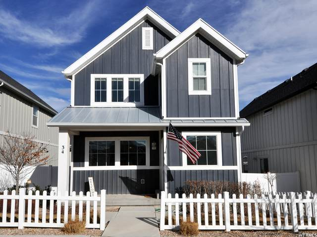 34 E Legacy Pkwy S, Saratoga Springs, UT 84045 (#1723232) :: Red Sign Team