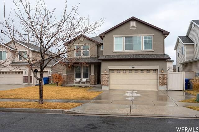 968 Hillingdon Ct, North Salt Lake, UT 84054 (#1724630) :: Utah Best Real Estate Team | Century 21 Everest