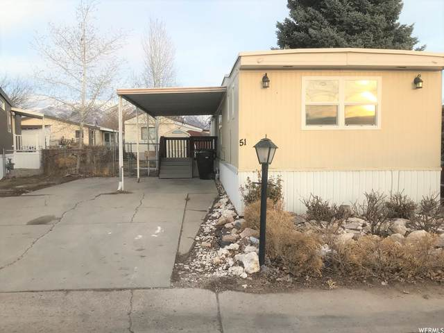 1500 N Angel St W #51, Layton, UT 84041 (#1724796) :: Colemere Realty Associates