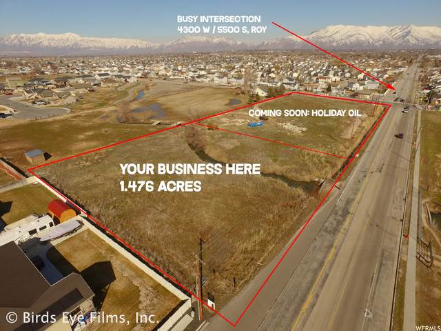 4398 W 5500 S #3, Roy, UT 84067 (#1725228) :: Doxey Real Estate Group