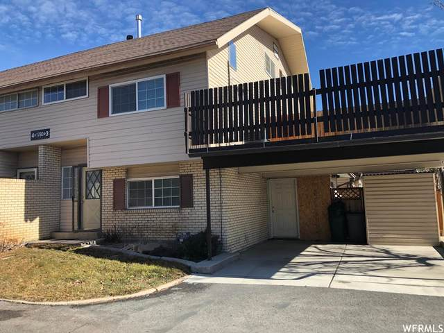 1780 W Homestead Farms Ln #3, West Valley City, UT 84119 (#1725869) :: Red Sign Team