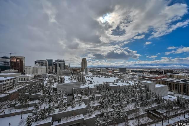 241 N Vine Street W 1005 E, Salt Lake City, UT 84103 (#1726242) :: RE/MAX Equity