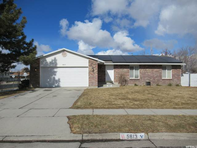 5613 S Whitewood Dr Dr W, Taylorsville, UT 84129 (#1726378) :: Red Sign Team