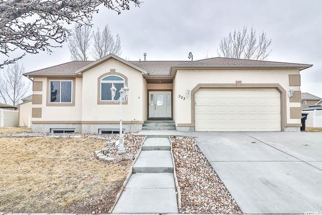 303 W Lakeside Dr, Stansbury Park, UT 84074 (#1726876) :: The Lance Group