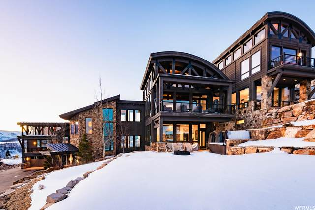 11380 N Snowtop Rd, Park City, UT 84060 (#1727460) :: Berkshire Hathaway HomeServices Elite Real Estate