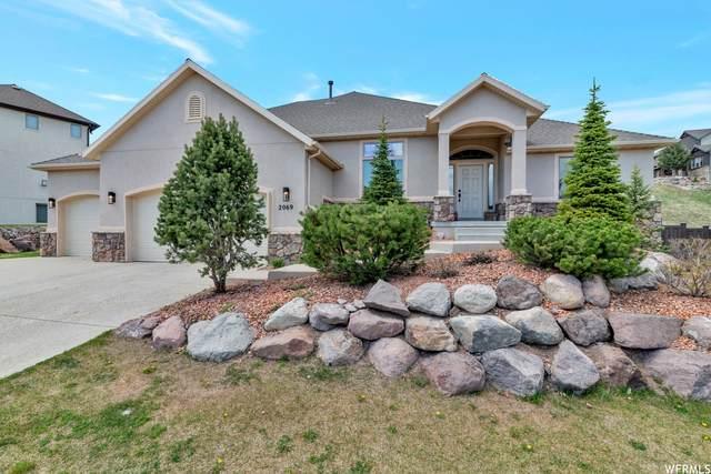 2069 E Eagle Crest Dr, Draper (Ut Cnty), UT 84020 (#1727574) :: Bustos Real Estate | Keller Williams Utah Realtors