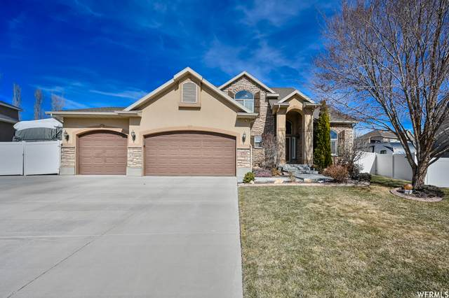 6354 W Silver Park Dr S, West Jordan, UT 84081 (#1727648) :: Berkshire Hathaway HomeServices Elite Real Estate