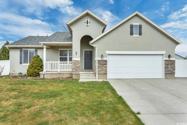 80 E Wildflower Ct, Saratoga Springs, UT 84045 (#1728509) :: Berkshire Hathaway HomeServices Elite Real Estate
