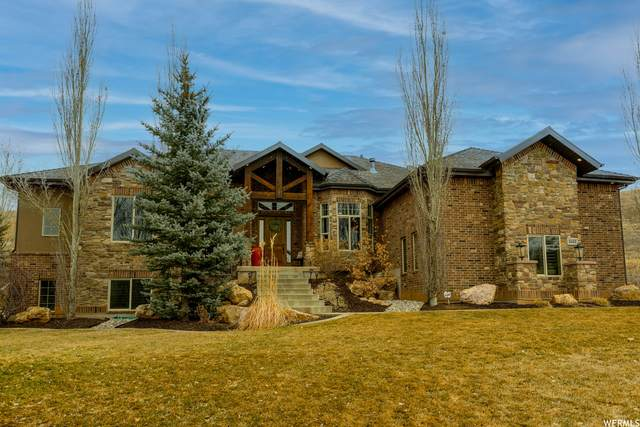 3432 W Hidden Meadow Cir N, Mountain Green, UT 84050 (#1728938) :: Colemere Realty Associates