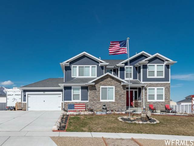 422 S Cardon Ridge Way, Grantsville, UT 84029 (#1729727) :: REALTY ONE GROUP ARETE