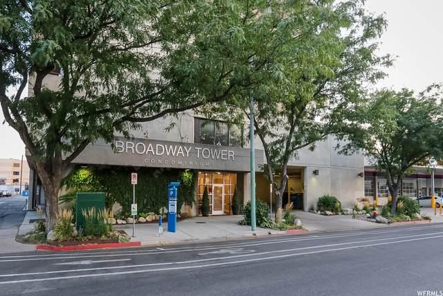 230 E Broadway S #505, Salt Lake City, UT 84111 (#1729756) :: Colemere Realty Associates