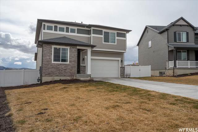 743 W Wild Hyacinth Dr, Saratoga Springs, UT 84045 (MLS #1729783) :: Lookout Real Estate Group