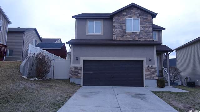 4592 S City Vistas Way W, West Valley City, UT 84128 (#1730886) :: Black Diamond Realty
