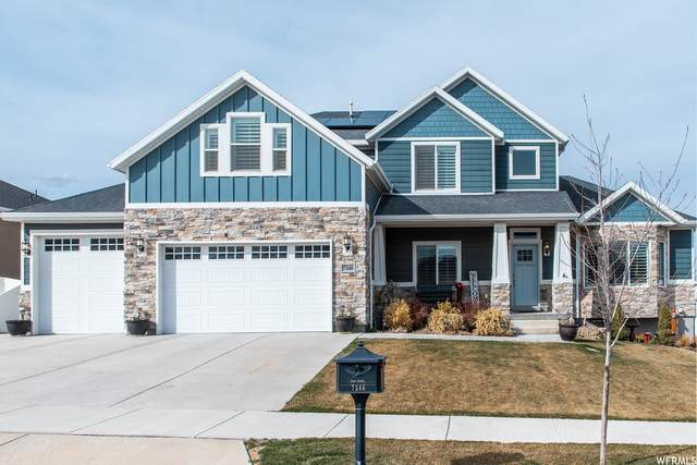 7346 W Hall Crossing Dr, Herriman, UT 84096 (#1731007) :: Belknap Team
