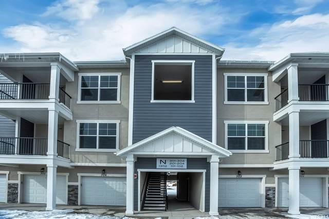 13072 S Tortolla Dr N201, Herriman, UT 84096 (#1731254) :: Berkshire Hathaway HomeServices Elite Real Estate