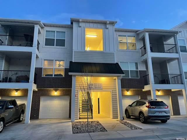 4126 W 1530 N #201, Lehi, UT 84043 (#1732290) :: Berkshire Hathaway HomeServices Elite Real Estate