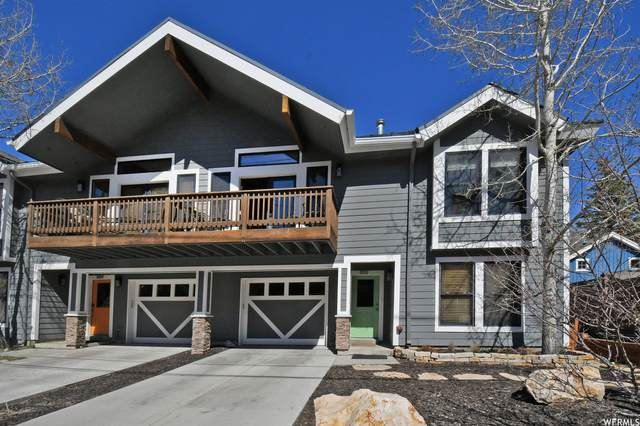 1372 Woodside Ave B, Park City, UT 84060 (#1732313) :: Doxey Real Estate Group
