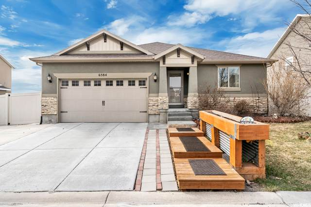 6584 S Azimuth Ct W, West Jordan, UT 84081 (#1732581) :: The Perry Group