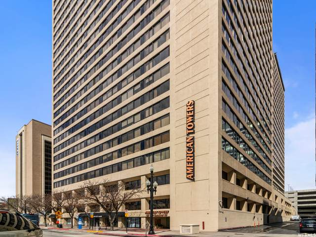 48 W Broadway S 407N, Salt Lake City, UT 84101 (#1732582) :: The Perry Group
