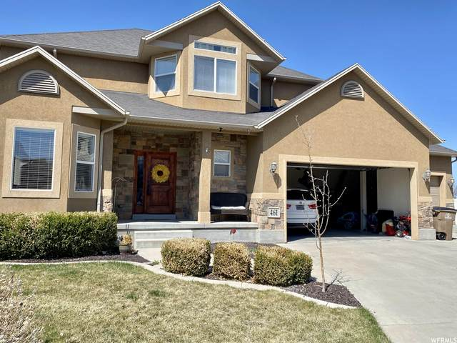 461 E Foxstone Cv S, Draper, UT 84020 (#1732814) :: Berkshire Hathaway HomeServices Elite Real Estate