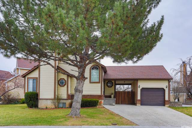 1339 W Countrywood Ln, West Jordan, UT 84088 (#1733333) :: Doxey Real Estate Group