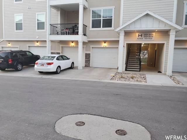 4243 W Mckellen Dr #H102, Herriman, UT 84096 (#1733578) :: Berkshire Hathaway HomeServices Elite Real Estate