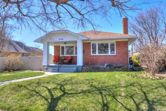 1638 S 1500 E, Salt Lake City, UT 84105 (#1734246) :: C4 Real Estate Team