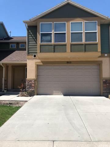 805 N Shepard Creek Pkwy, Farmington, UT 84025 (#1734437) :: Colemere Realty Associates