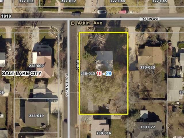 1922 E Atkin Ave, Salt Lake City, UT 84106 (#1734815) :: C4 Real Estate Team