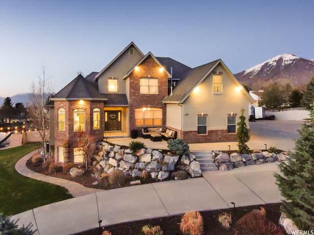 119 S Hillside Drive Dr, Elk Ridge, UT 84651 (#1734855) :: Black Diamond Realty