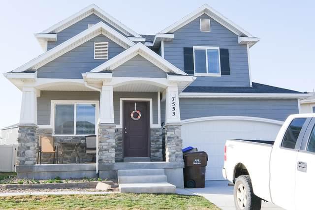 7553 N Evans Ranch Dr, Eagle Mountain, UT 84005 (#1735059) :: Berkshire Hathaway HomeServices Elite Real Estate