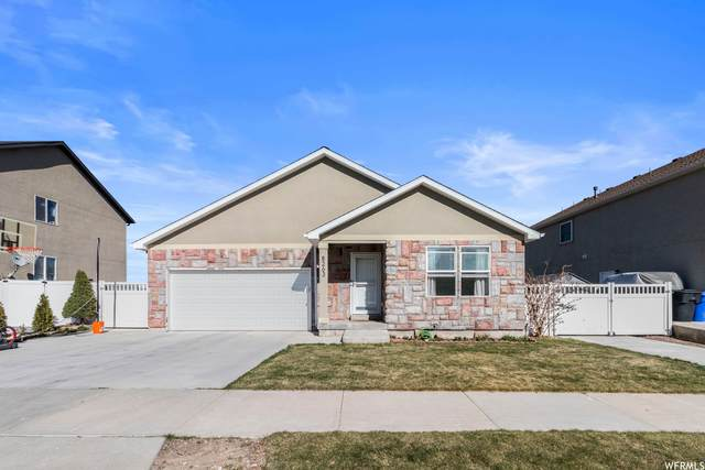 8263 S Oak Vista Dr, West Jordan, UT 84081 (#1735226) :: Black Diamond Realty